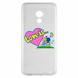 Чехол для Meizu Pro 6 Love is... - FatLine