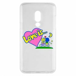 Чехол для Meizu 15 Love is... - FatLine