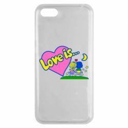 Чехол для Huawei Y5 2018 Love is... - FatLine