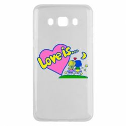 Чехол для Samsung J5 2016 Love is...