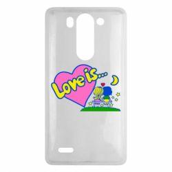 Чехол для LG G3 mini/G3s Love is... - FatLine