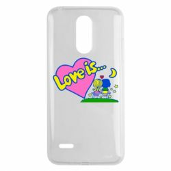 Чехол для LG K8 2017 Love is... - FatLine