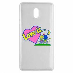 Чехол для Nokia 3 Love is... - FatLine