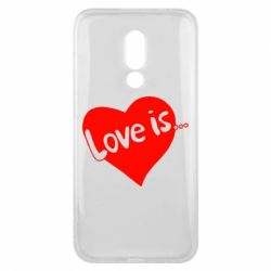 Чехол для Meizu 16x Love is... - FatLine