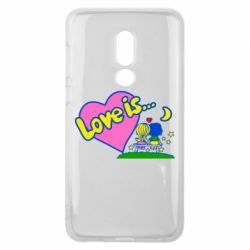 Чехол для Meizu V8 Love is... - FatLine