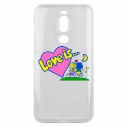 Чехол для Meizu X8 Love is... - FatLine