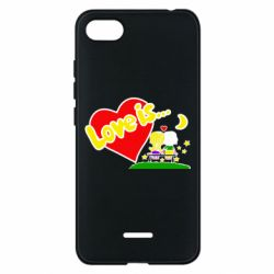 Чехол для Xiaomi Redmi 6A Love is... - FatLine