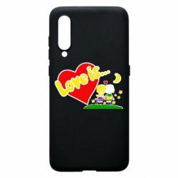 Чехол для Xiaomi Mi9 Love is...