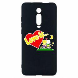 Чехол для Xiaomi Mi9T Love is...