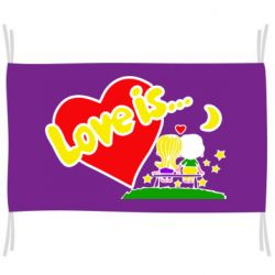 Флаг Love is...