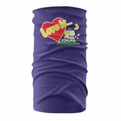 Бандана-труба Love is...