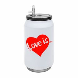 Термобанка 350ml Love is...