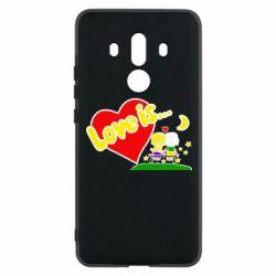 Чехол для Huawei Mate 10 Pro Love is... - FatLine