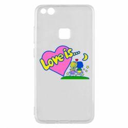 Чехол для Huawei P10 Lite Love is... - FatLine