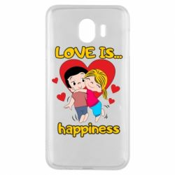 Чохол для Samsung J4 love is...happyness
