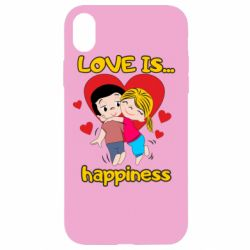 Чохол для iPhone XR love is...happyness