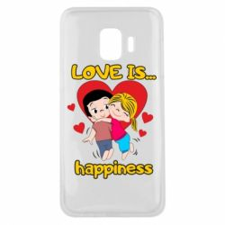 Чохол для Samsung J2 Core love is...happyness