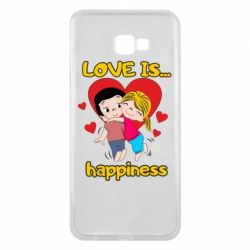 Чохол для Samsung J4 Plus 2018 love is...happyness