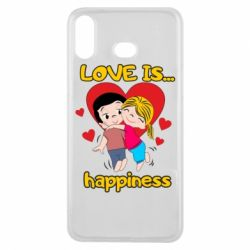 Чохол для Samsung A6s love is...happyness