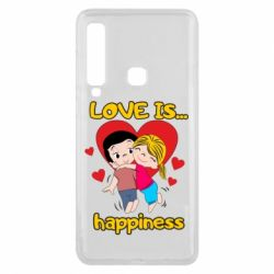 Чохол для Samsung A9 2018 love is...happyness