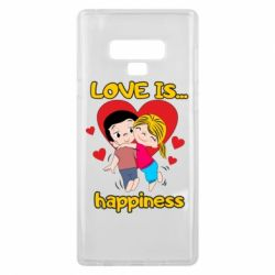 Чохол для Samsung Note 9 love is...happyness