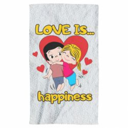 Рушник love is...happyness