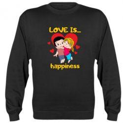 Реглан (світшот) love is...happyness