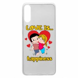 Чохол для Samsung A70 love is...happyness