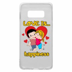 Чохол для Samsung S10e love is...happyness