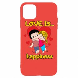 Чохол для iPhone 11 Pro Max love is...happyness