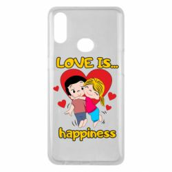 Чохол для Samsung A10s love is...happyness
