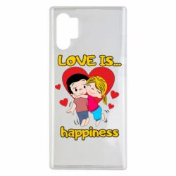 Чохол для Samsung Note 10 Plus love is...happyness