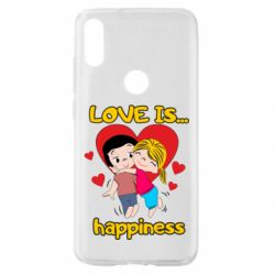 Чохол для Xiaomi Mi Play love is...happyness