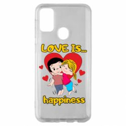 Чохол для Samsung M30s love is...happyness