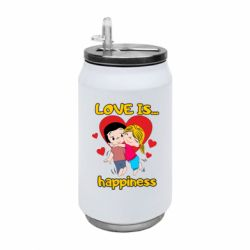 Термобанка 350ml love is...happyness