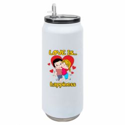Термобанка 500ml love is...happyness