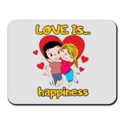 Килимок для миші love is...happyness