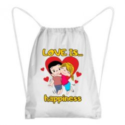 Рюкзак-мішок love is...happyness