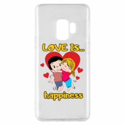 Чохол для Samsung S9 love is...happyness