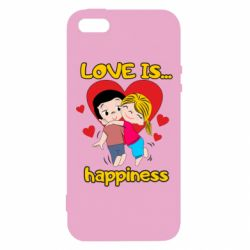 Чохол для iphone 5/5S/SE love is...happyness