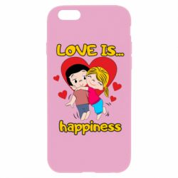 Чохол для iPhone 6 Plus/6S Plus love is...happyness