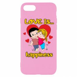 Чохол для iPhone 8 love is...happyness