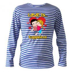 Тільник з довгим рукавом love is...happyness