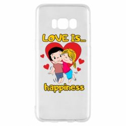 Чохол для Samsung S8 love is...happyness