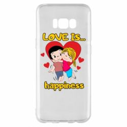 Чохол для Samsung S8+ love is...happyness