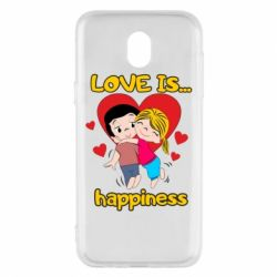Чохол для Samsung J5 2017 love is...happyness