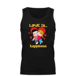 Майка чоловіча love is...happyness