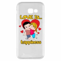 Чохол для Samsung A5 2017 love is...happyness