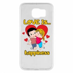 Чохол для Samsung S6 love is...happyness