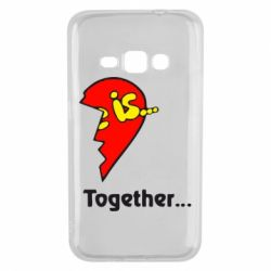 Чохол для Samsung J1 2016 Love is...Together
